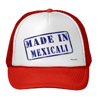 Made in Mexicali Trucker Hat