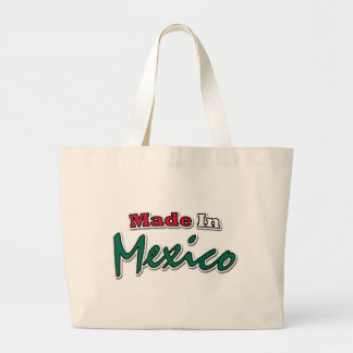 Made In Mexico Canvas Bags