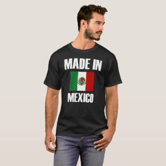 Made In Mexico Flag T-Shirt