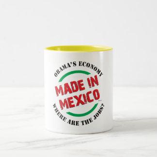 Made In Mexico Two-Tone Coffee Mug