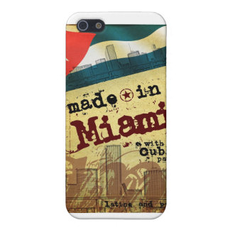 Made in Miami with Cuban Parts Cover For iPhone SE/5/5s