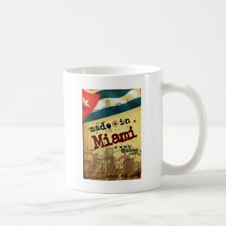 Made in Miami with Cuban Parts Mugs