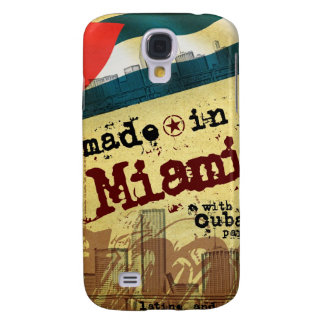 Made in Miami with Cuban Parts Samsung S4 Case