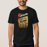 Made in Miami with Cuban Parts T Shirt
