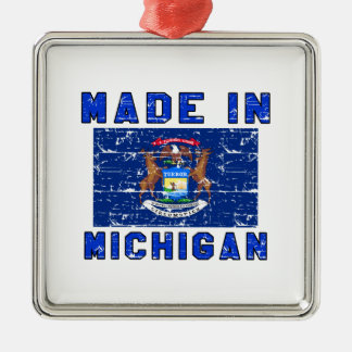 Made in Michigan Christmas Ornaments