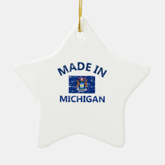 Made in MICHIGAN Christmas Tree Ornament