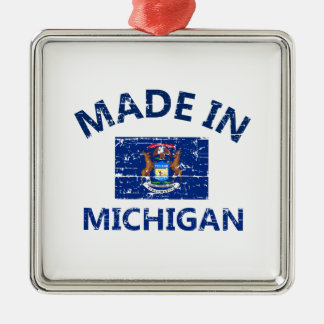 Made in MICHIGAN Christmas Ornament
