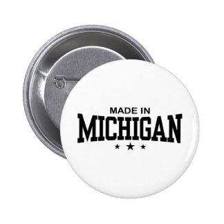 Made In Michigan Pinback Button