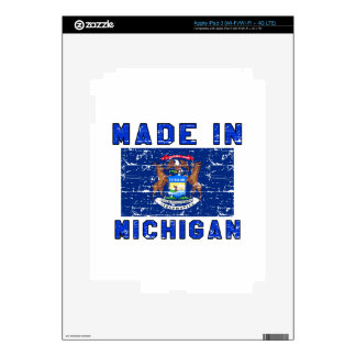 Made in Michigan Skins For iPad 3