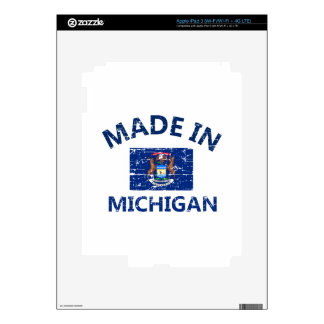 Made in MICHIGAN Decal For iPad 3