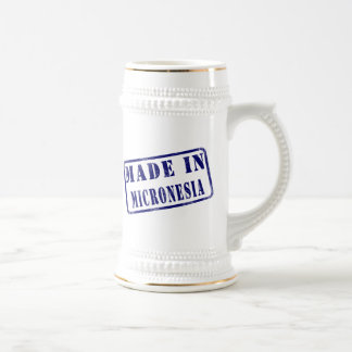 Made in Micronesia 18 Oz Beer Stein