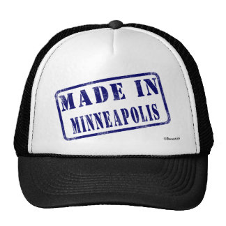 Made in Minneapolis Mesh Hats