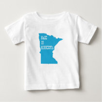 Made In Minnesota Baby T-Shirt