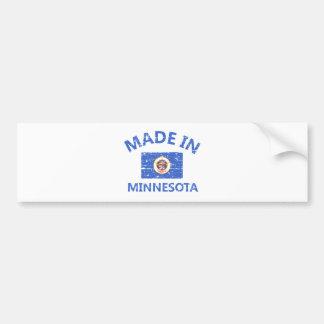 Made in MINNESOTA Car Bumper Sticker