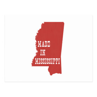 Made In Mississippi Postcard