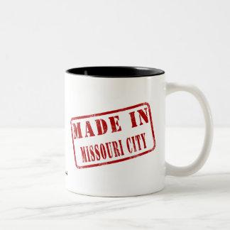 Made in Missouri City Two-Tone Coffee Mug