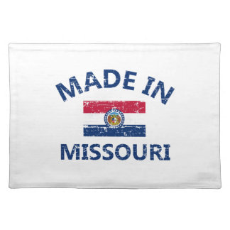 Made in MISSOURI United States Flag designs Cloth Place Mat