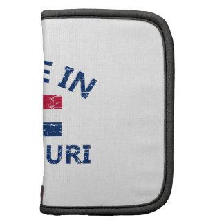 Made in MISSOURI United States Flag designs Folio Planners