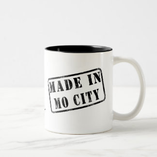 Made in Mo City Two-Tone Coffee Mug