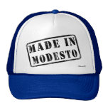 Made in Modesto Trucker Hats