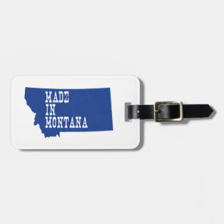 Made In Montana Bag Tag