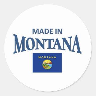 Made in Montana Classic Round Sticker
