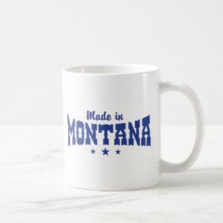 Made In Montana Classic White Coffee Mug
