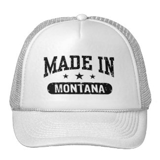 Made In Montana Hats
