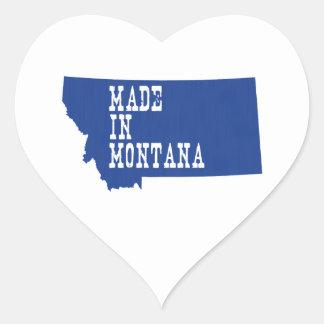 Made In Montana Heart Sticker