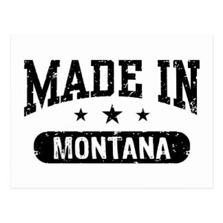 Made In Montana Postcard