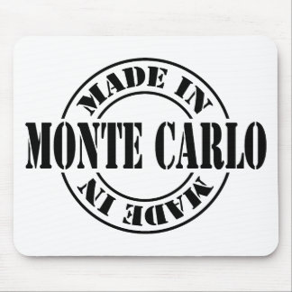 made in Monte Carlo Mouse Pad
