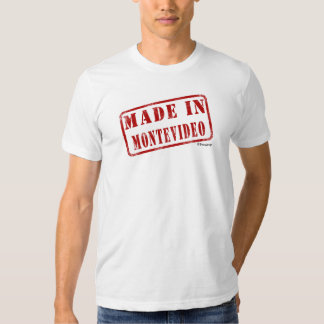 Made in Montevideo T-shirt
