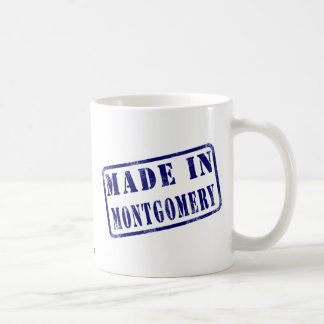 Made in Montgomery Classic White Coffee Mug