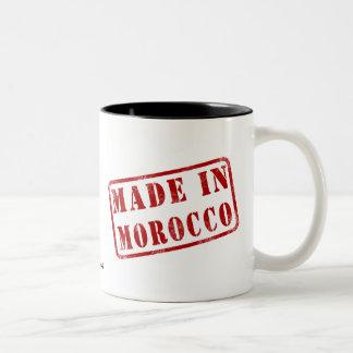 Made in Morocco Two-Tone Coffee Mug