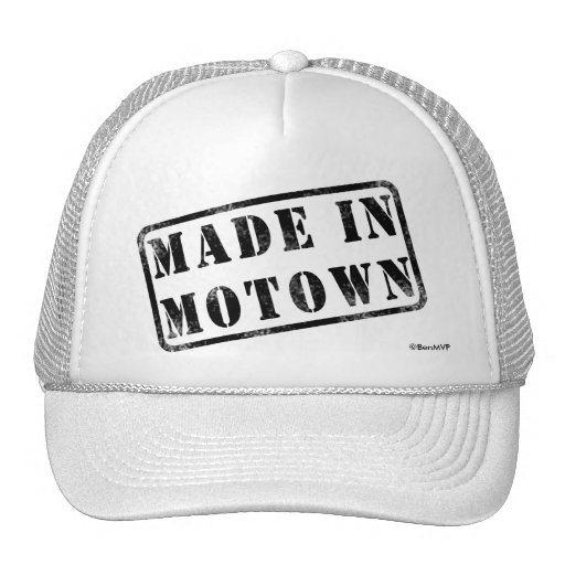 Made in Motown Trucker Hat