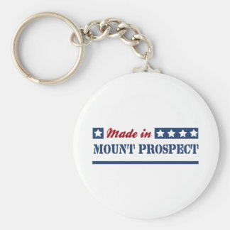 Made in Mount Prospect Keychain