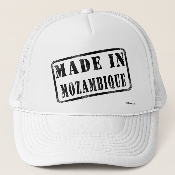 Made in Mozambique Hat