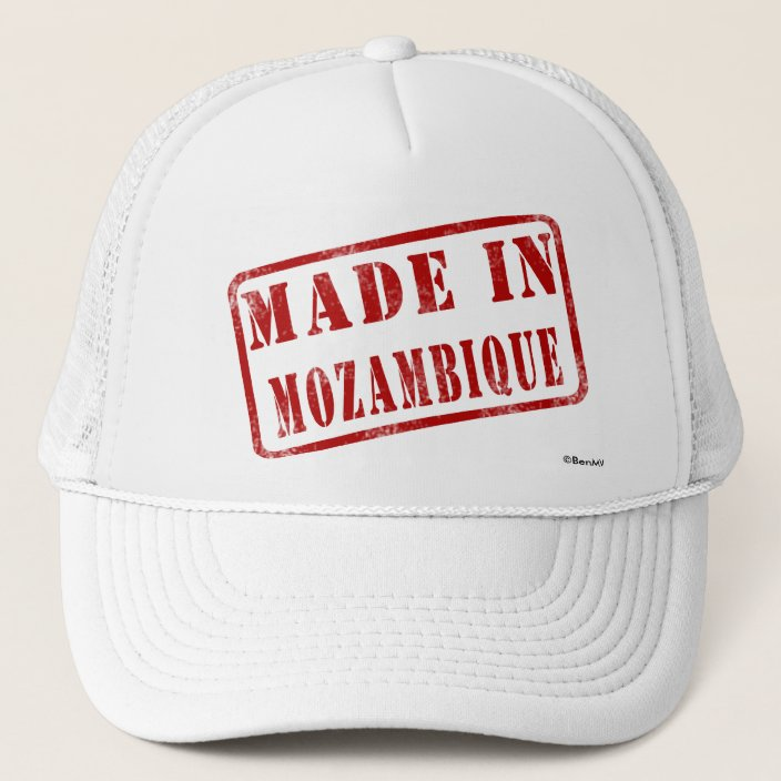 Made in Mozambique Mesh Hat
