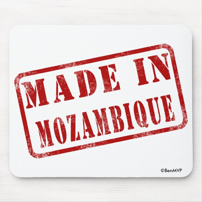 Made in Mozambique Mouse Pad