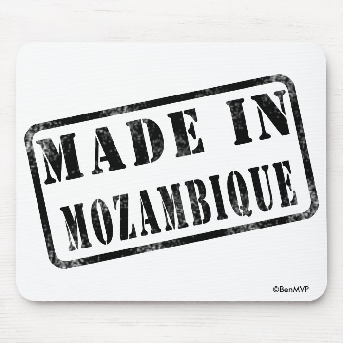 Made in Mozambique Mousepad