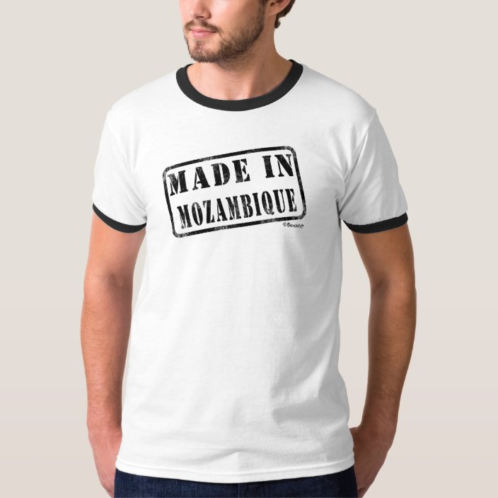 Made in Mozambique Tee Shirt
