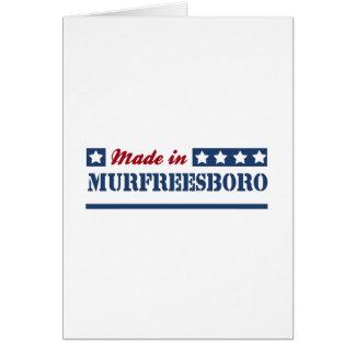 Made in Murfreesboro Greeting Card