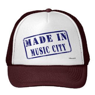 Made in Music City Trucker Hat