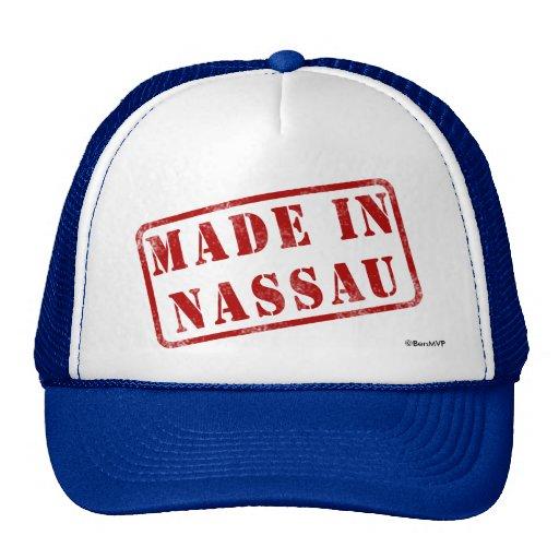 Made in Nassau Trucker Hat