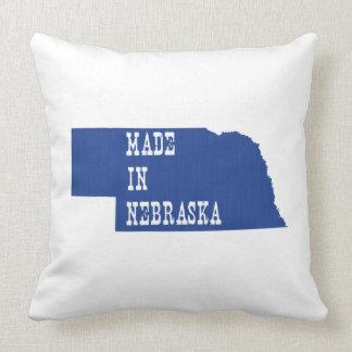 Made In Nebraska Throw Pillow