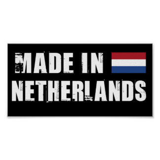 Made in Netherlands Poster