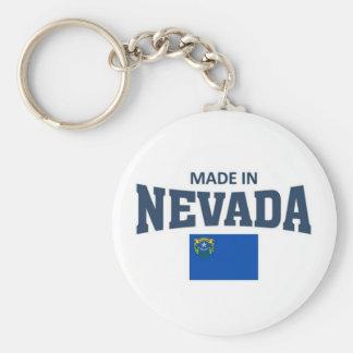 Made in Nevada Basic Round Button Keychain