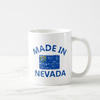 Made in NEVADA United States Flag designs Coffee Mug