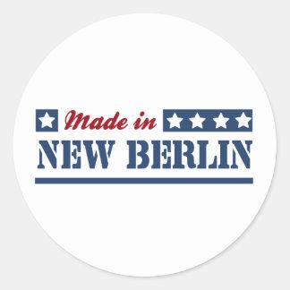 Made in New Berlin Round Sticker