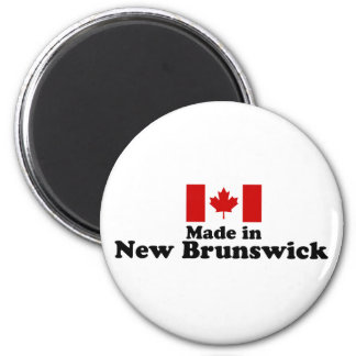 Made in New Brunswick 2 Inch Round Magnet